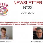 Newsletter n°22 – Juin 2019