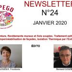 NEWSLETTER N° 24 – JANVIER 2020